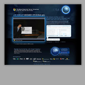 Microsoft Dream Server Website