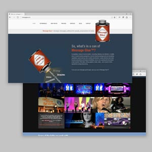 Messageglue Wordpress Website